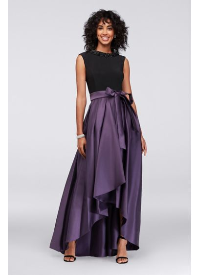 High Low Ballgown Tank Formal Dresses Dress - Ignite