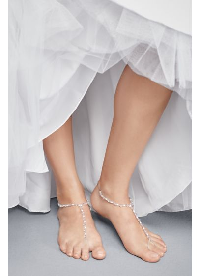 David's Bridal Grey (Beach Foot Jewelry)
