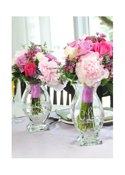 Personalized Affinity Wedding Reception Vase 3912