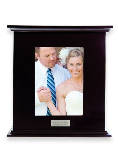 Personalized Reception Card Holder Photo Box - Wedding Gifts & Decorations