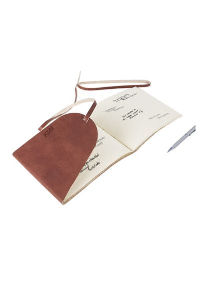 Personalized Leather Guest Book Journal 3935