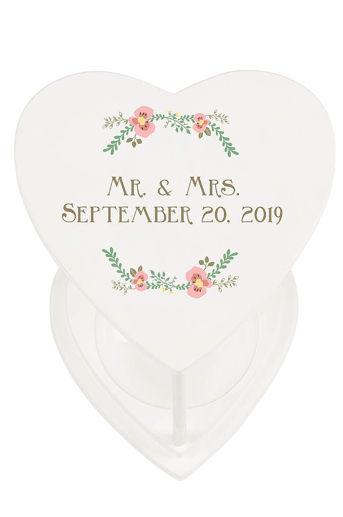 Personalized Unity Sand Ceremony Hourglass Set - At your wedding, celebrate the melding of love