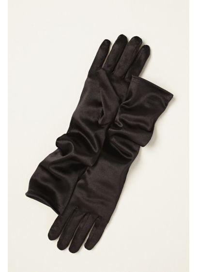 Greatlookz Satin Elbow Length Gloves - Wedding Accessories