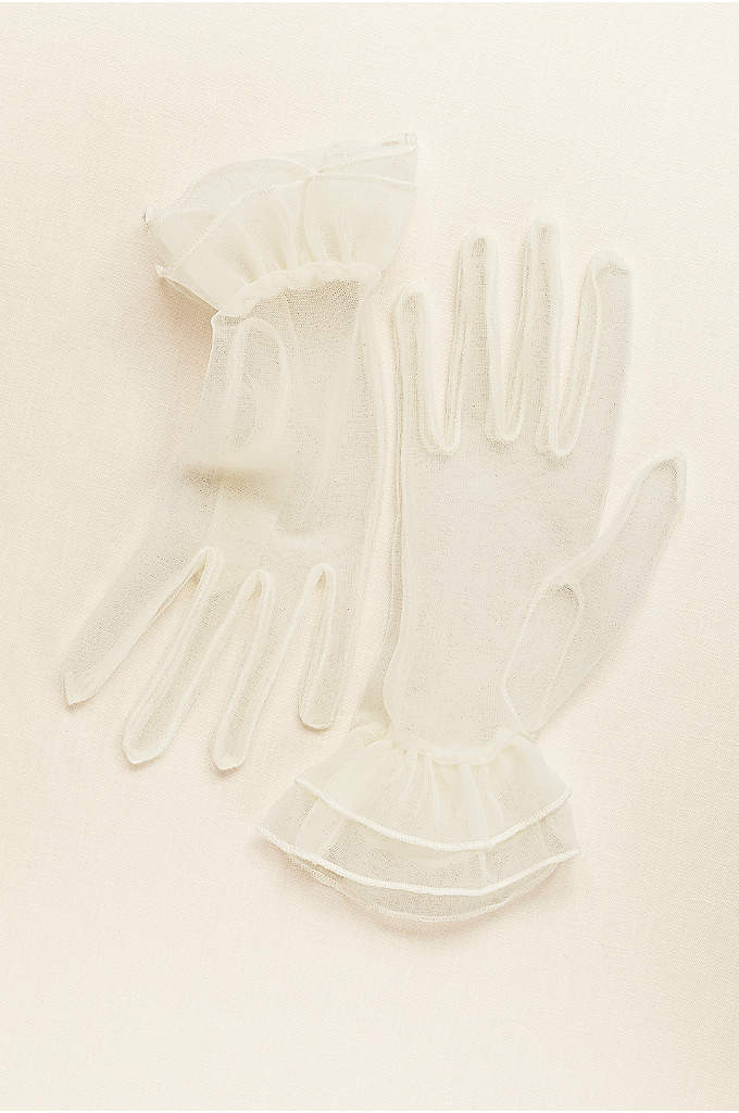 Greatlookz Sheer Wrist Length Gloves - Looking to add a special touch to your