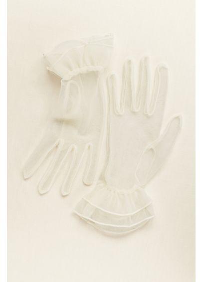 Greatlookz Sheer Wrist Length Gloves - Davids Bridal - photo #42