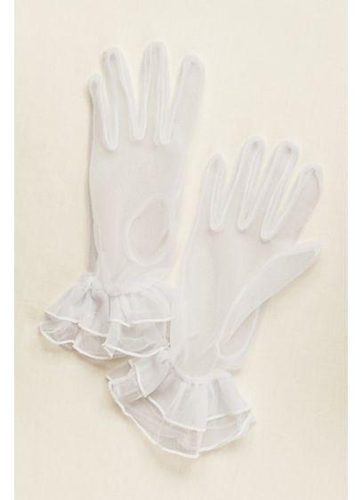 Greatlookz Sheer Wrist Length Gloves - Wedding Accessories