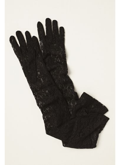 Greatlookz Stretch Lace Opera Length Gloves - Wedding Accessories