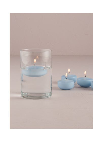 Red (Colored Floating Candles Pack of 6)