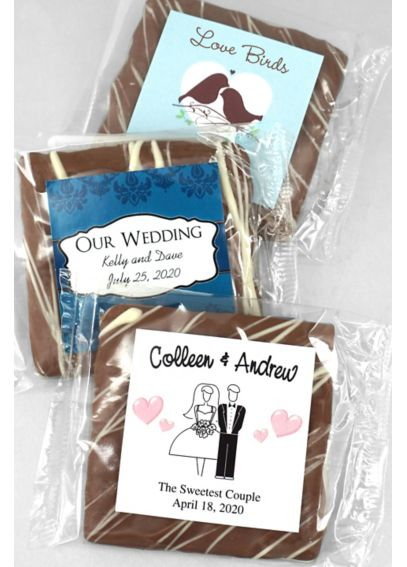 Personalized Chocolate Graham Cracker 4097000