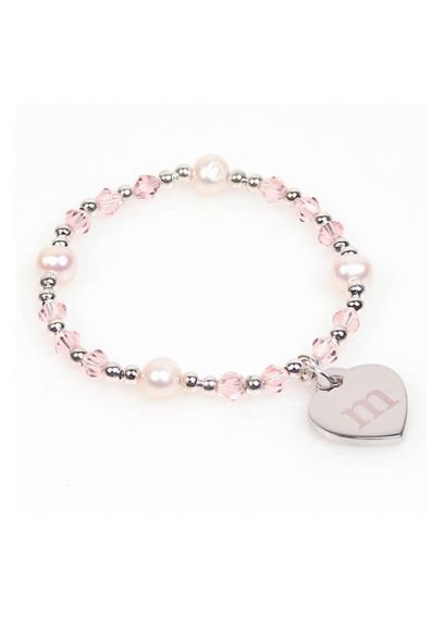 Personalized Heart Charm Bracelet 41011159