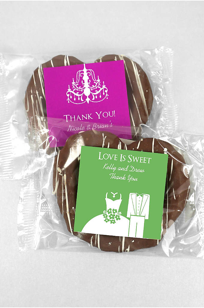 DB Exc Personalized Gourmet Chocolate Pretzels - There IS such a thing as the perfect