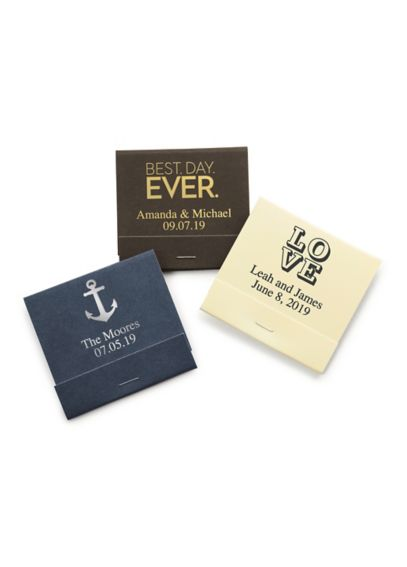 Personalized Matchbooks Pack of 50 41092