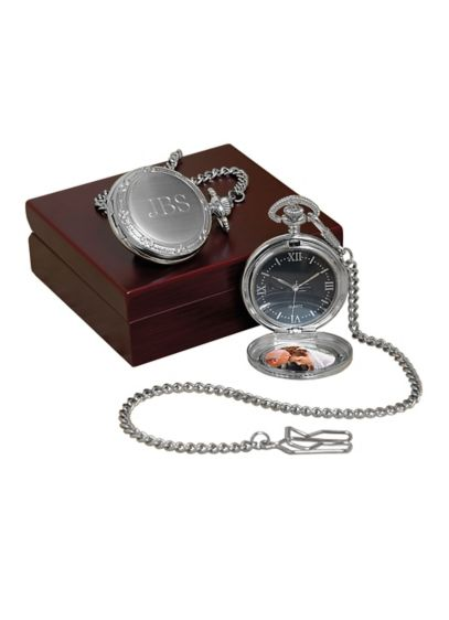 Personalized Photo Pocket Watch - Wedding Gifts & Decorations