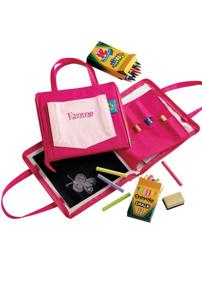 DB Exclusive Personalized Art Doodlebag in Pink 4139-1101-1