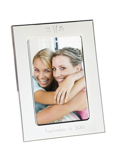 (Personalized Silver Picture Frame)