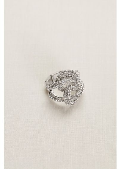 Pave Knot Stretch Ring 414880R001