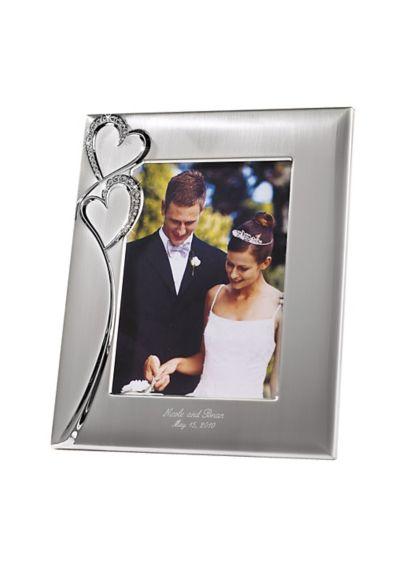 Personalized Twin Hearts Photo Frame 4167-0204