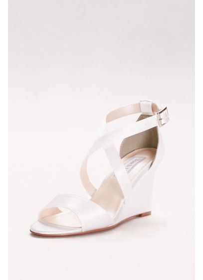 Touch Ups White (Jenna Dyeable Wedge Sandals)
