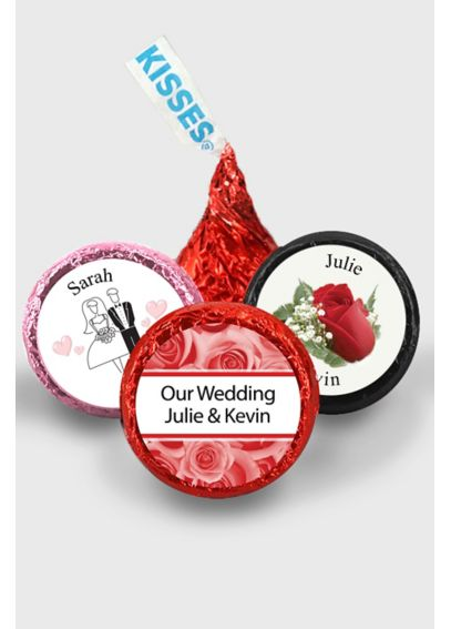 Pers Classic Wedding Colored Foil Hershey's Kisses 4217000