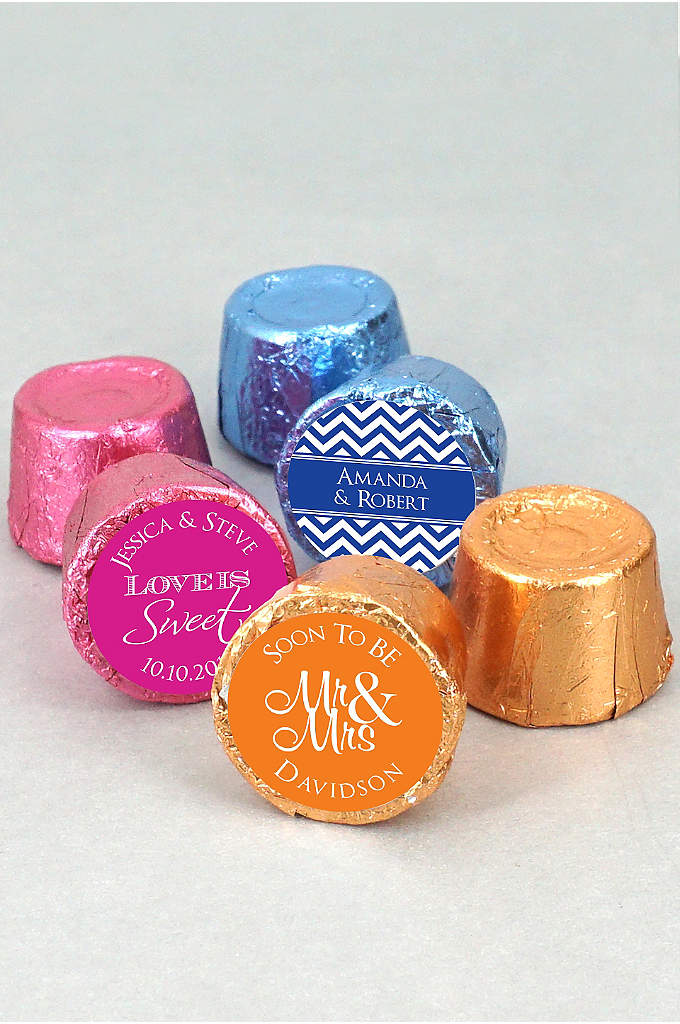 DB Exc Pers Colored Foil Hershey's Rolo Chocolates - These mouthwatering little chewy candies are individually wrapped