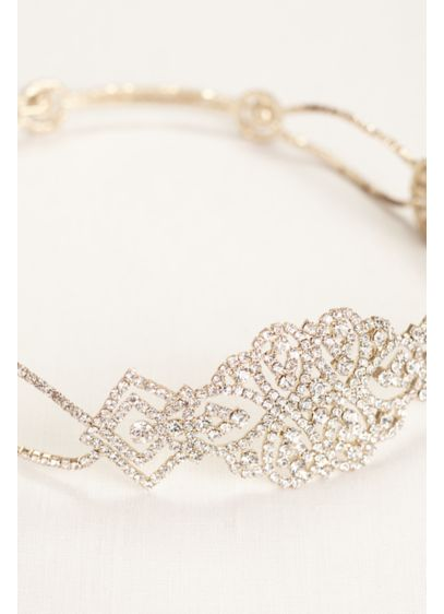 All Around Crystal Stretch Headband - Wedding Accessories