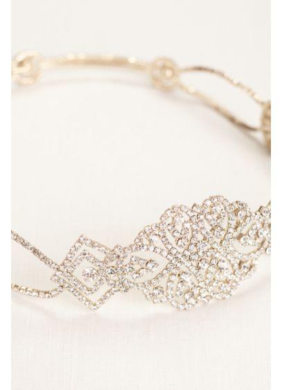 All Around Crystal Stretch Headband - Wedding Accessories