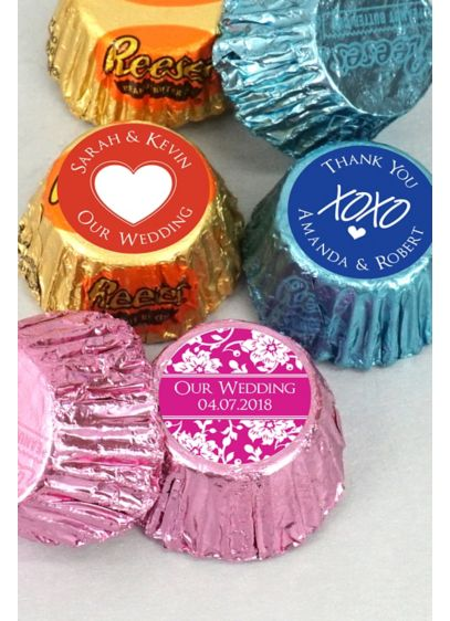 DB Exc Pers Colored Foil Hershey's Reese's - Wedding Gifts & Decorations