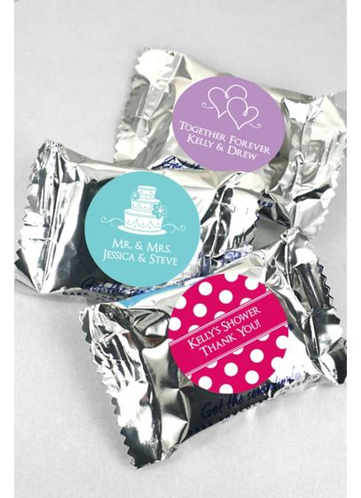 DB Exclusive Personalized YORK Peppermint Patties - Wedding Gifts & Decorations