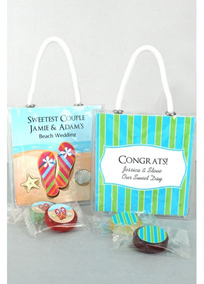 Personalized Life Savers Candy Mini Gift Tote 4297000