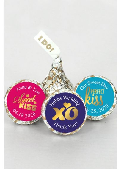 Pers Shimmering Love I DO Plume Hershey's Kisses  4307001
