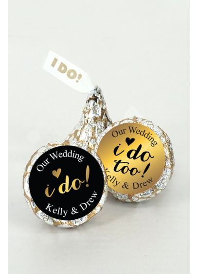 Pers Shimmering Love I DO Kisses Set of 200 - Wedding Gifts & Decorations