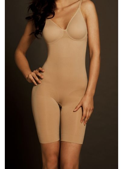 Body Wrap Long Leg Body Suit with Underwire - Wedding Accessories