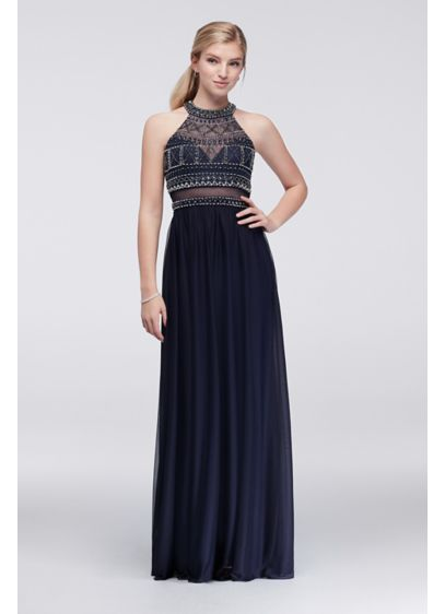 Long A-Line Tank Prom Dress - My Michelle