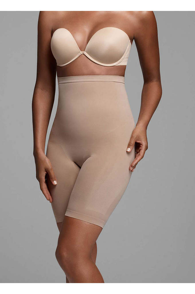 Body Wrap High-Waist Seamless - Body Wrap Seamless High Waist Long Leg Panty.