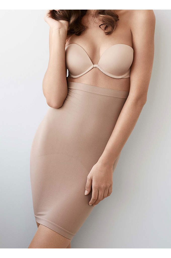 Body Wrap Seamless Half Slip - Create a sleek silhouette under clingy fabrics with