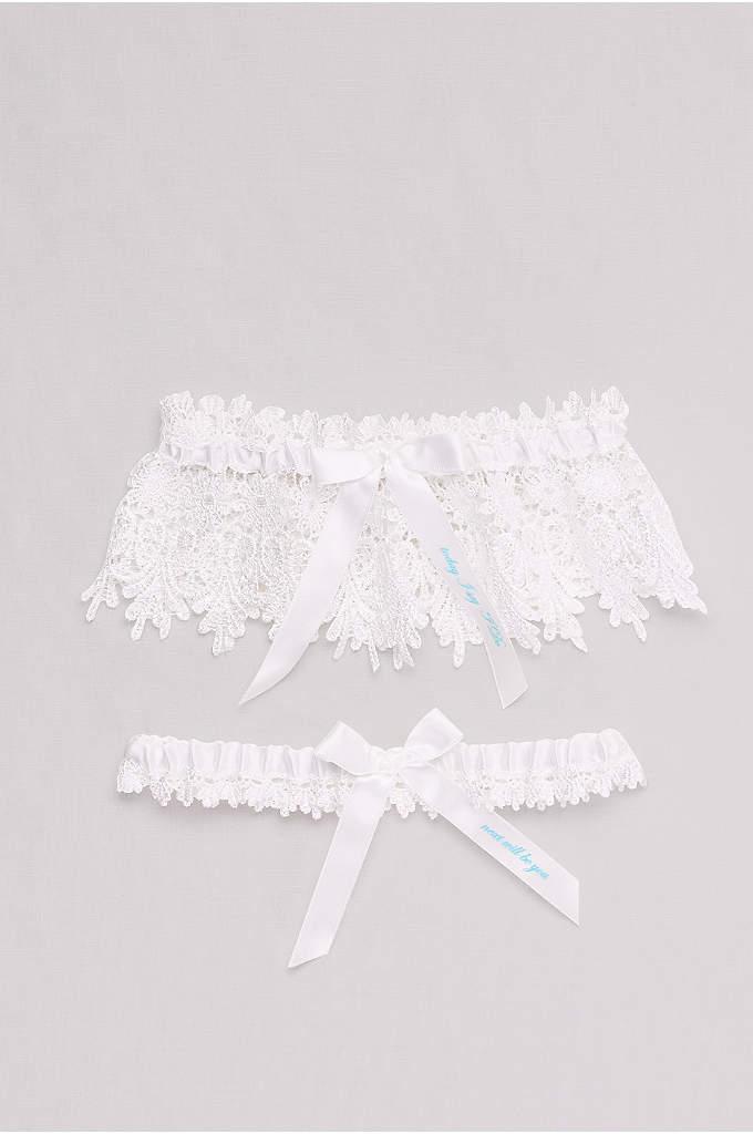 Today I Say I Do Lace Garter Set