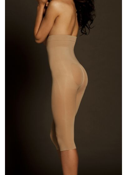 Body Wrap Seamless Catwalk High Waist Capri - Wedding Accessories