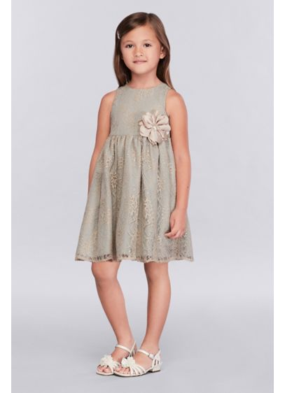 Short Green Soft & Flowy Marmellata Bridesmaid Dress