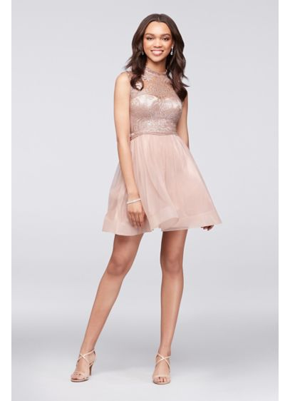 Short Ballgown Cap Sleeves Cocktail and Party Dress - My Michelle