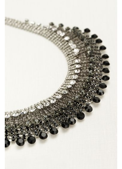 Crystal Ombre Statement Necklace - Wedding Accessories