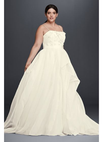 Long A-Line Wedding Dress - Cheers Cynthia Rowley