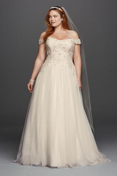 Davids Bridal Mermaid Dress