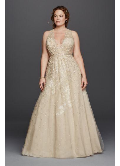 Melissa Sweet Wedding Dress With Floral Detail Davids Bridal