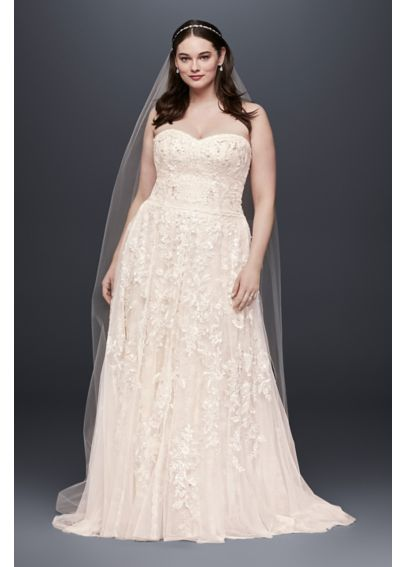 Melissa Sweet Sweetheart Plus Size Wedding Dress 4XL8MS251174
