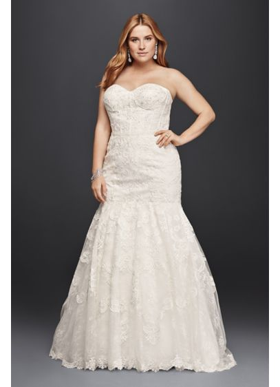 Long 0 Modern Chic Wedding Dress - Galina Signature