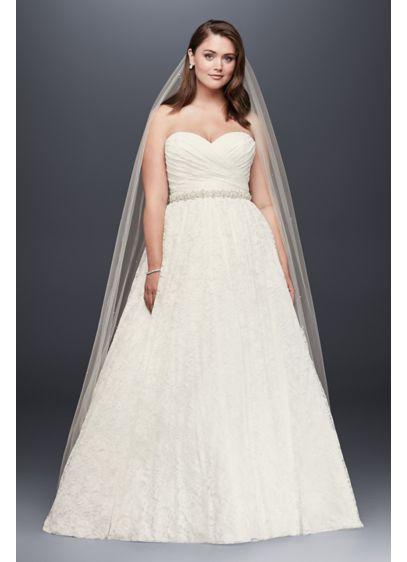 Long Ballgown Country Wedding Dress - David's Bridal Collection