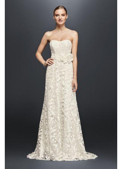 Long Sheath Strapless Dress -