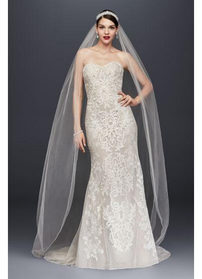 Long Sheath Formal Wedding Dress -