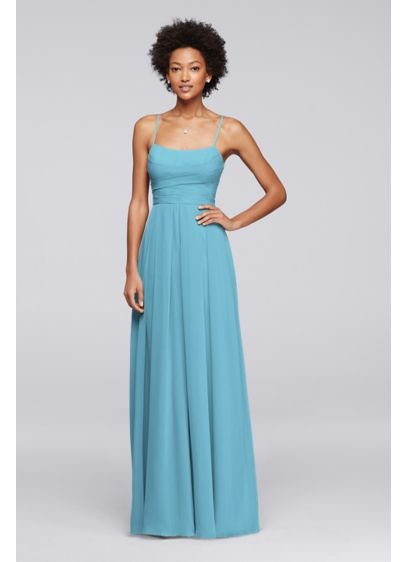 Blue David's Bridal Bridesmaid Dress