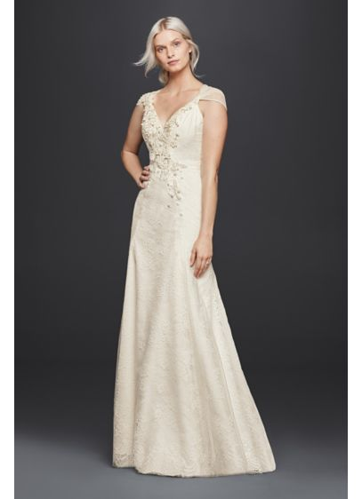 Long Sheath Beach Wedding Dress - Wonder by Jenny Packham